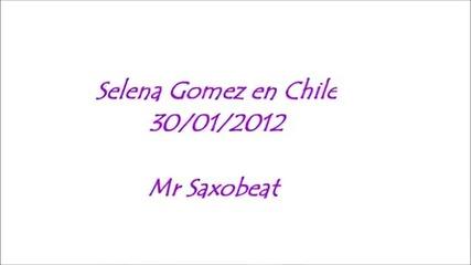 Селена Гомез изпълнява Mr. Saxobeat на Александра Стан на свой концерт