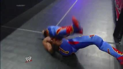 Кофи Кингстън срещу Къртис Аксел / Майн Евент 15.01.2014г.