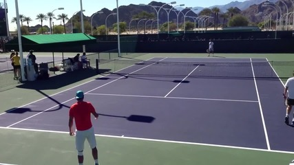 Rafael Nadal Indian Wells 2013 - Practice Hd