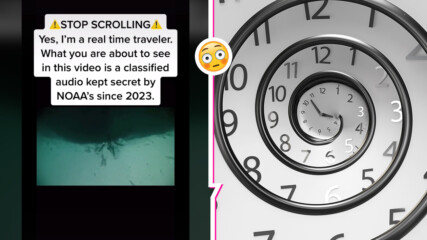 Пътешественик във времето публикува топ секретен запис от 2023 г.! Идват страшни дни