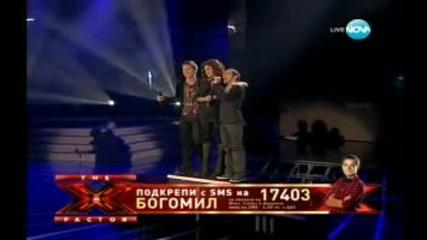 """Впечатляващо откриване на финала на """"x Factor"""" от Рафи, Боги и Сани"""