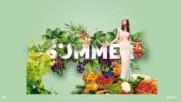 Сладки летни плодове - малини ...