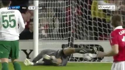 Manchester United vs Bursaspor ( Nani Goal ) * Hd *