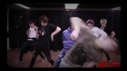 U-kiss - She's Mine - choreography practice 131113