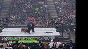 The Great Khali vs. Batista - World Heavyweight Title Match: SummerSlam 2007 (Full Match)