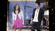 Demi Lovato and Joe Jonas za konkursa na whiteflower 2-ri krag