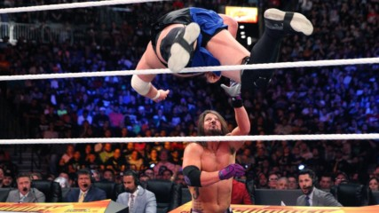 Samoa Joe flattens AJ Styles with stunning dive from the ring: SummerSlam 2018 (WWE Network Exclusive)
