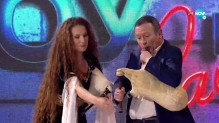 Владислава и Тихомир Христозови в Забраненото шоу на Рачков (18.04.2021)