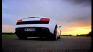 Lamborghini Gallardo Lp560 - 4 Срещу Porsche 911(997) Gt2