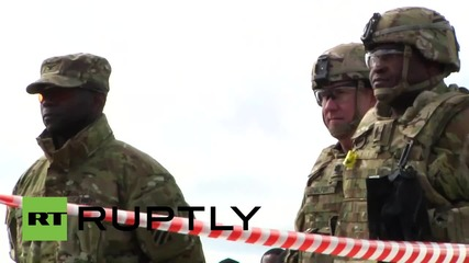 Estonia: Troops test out M1A2s ahead of Hedgehog drills