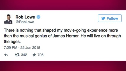 'Titanic' Composer James Horner Dies in Plane Crash