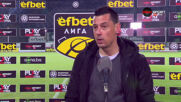 Александър Томаш: Благодаря на играчите, искам още от Боруков