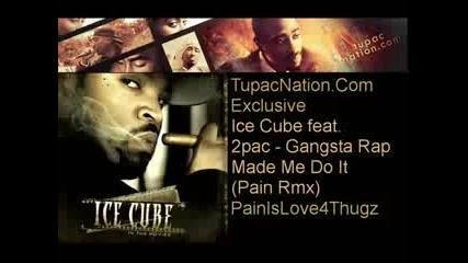 Ice Cube feat. 2pac - Gangsta Rap Made Me Do It (pain Remix)
