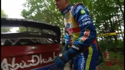 2010 Wrc Rally Japan Day 2 part 1