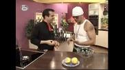 Big Sha готви в Бон Апети [12.07.2008] + В края на видеото чат с Мишо