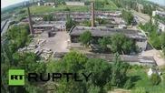 Ukraine: Drone captures aftermath of fatal Gorlovka shelling attack