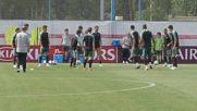 Португалия тренировка