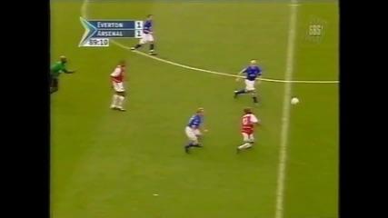 Запомнете името - Уейн Рууни ! 10 години от първия му гол в Английската Висша Лига