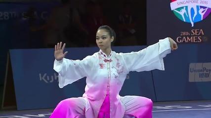 Lindswell Kwok - 28th Sea Games Taiji Quan
