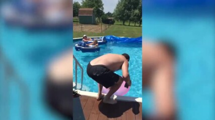 Гафове и провали на басейна - Яките клипове