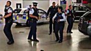 """Предизвикателството """"Бягащият полицай"""" на новозеландските полицаи"""