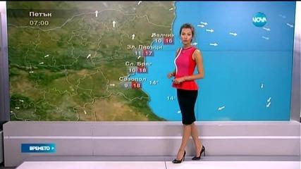 Прогноза за времето (01.05.2015 - сутрешна)