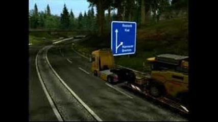 Euro Truck Simulator 2008 Pictures ep 2