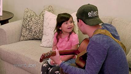 Demi Lovato Surprises Father-daughter Duo Nick Sienna