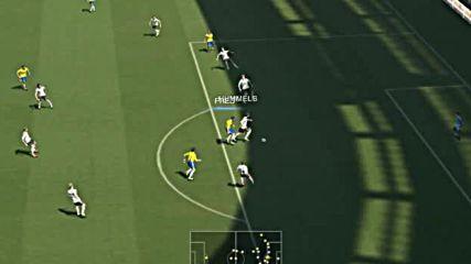 Pes2014 - Brazil - Germany - първо полувреме