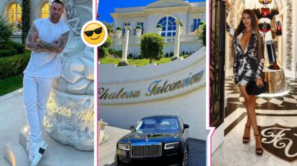 Обиколка на дома: Филип Плейн и Лучия показаха в какъв лукс живеят