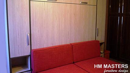 Мебелна композиция с Падащо легло от hm-masters.com