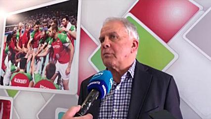 Данчо Лазаров: Ще облечем националите навреме