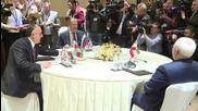 Azerbaijan: Lavrov meets Iranian and Azerbaijani FMs in Baku