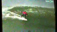 Екстремно:човека срещум вълната
