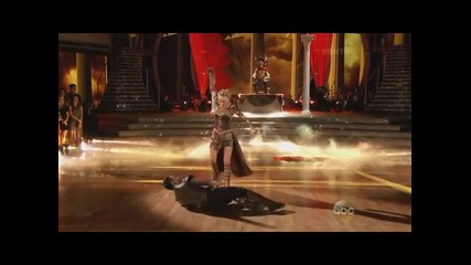 Nastia & Derek - with Sasha (dwts Week 8 - 2015)