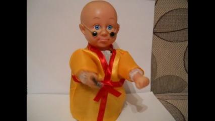 Кукла каратист