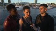 Oscar Isaac, John Boyega, And Daisy Ridley Talk Star Wars
