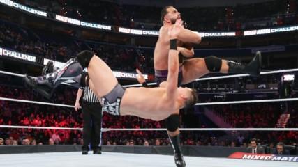 The Miz does his best Aiden English impression on WWE MMC