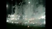 Coritiba - Corinthians - Феноменална атмосфера от феновете на Coritiba