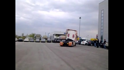 Шоу с тунингован камион