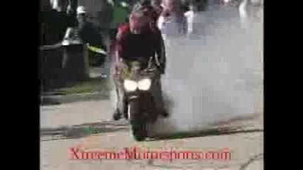 Burnout Hа Honda