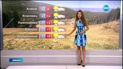 Прогноза за времето (30.05.2015 - сутрешна)