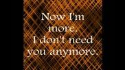 Selena Gomez - I Won t Apologize - Lyrics