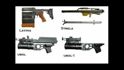 Оръжия, Правени В България За Бълг.Армия