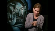 Emma Watson - интервю Harry Potter And The Half Blood Prince Junket Interview част 1