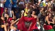 Mens 50 freestyle final Roma 2009 1 - Cielo 2 - Bousquet 3 - Leveaux