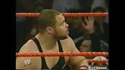 D - Lo Brown vs. Maven - Wwe Heat 12.01.2003