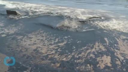 Broken Pipeline Spills Oil on Scenic Central California Coast