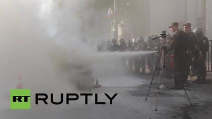 Ukraine: Scuffles break out at Kiev hunger strike
