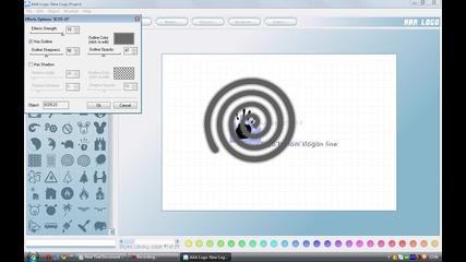 Как да си направим хубаво лого Hd